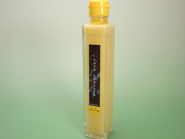 森のゆず果汁(200ml)斜め